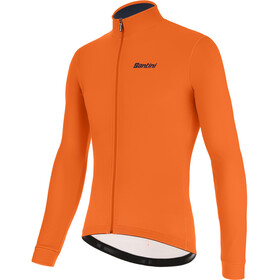 Santini Color LS Jersey Men fluo orange